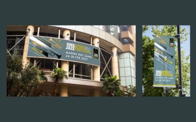 新加坡爵士音樂節海報設計