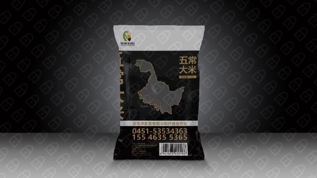 家家有稻农产品品牌包装设计入围方案2