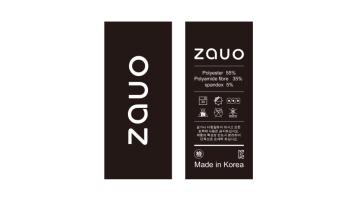 zauo服裝品牌公司宣傳單設計