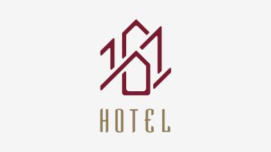 161 HOTEL酒店品牌LOGO设计