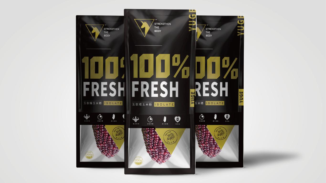 玉歌食品品牌包装设计中标图2
