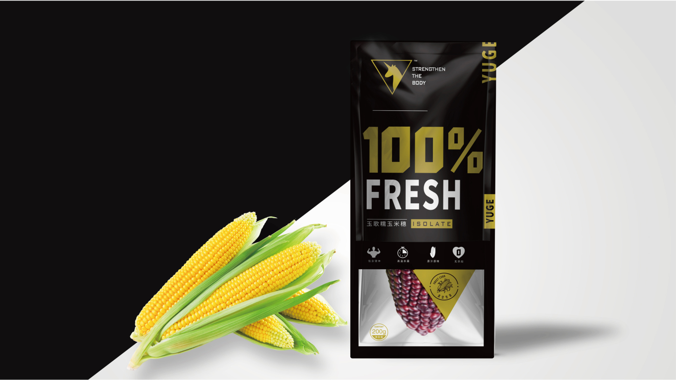 玉歌食品品牌包装设计中标图1