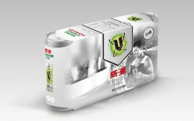 美国V牌饮料设计