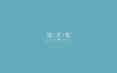 臻美雅品牌logo设计&...