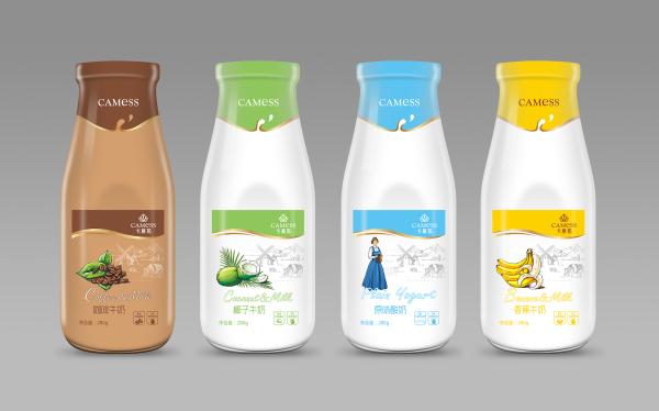 卡慕斯牛奶包装