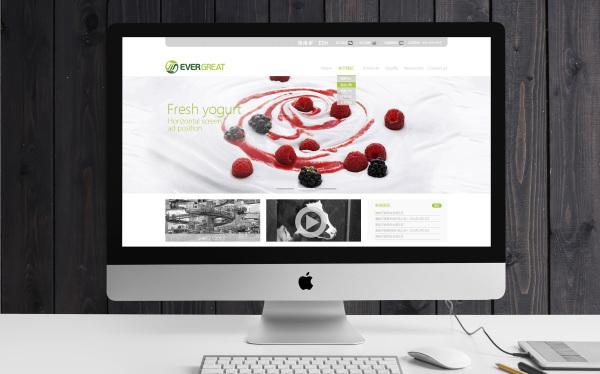 酸奶粉网站设计案例