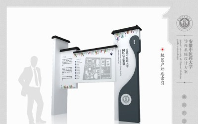 大学园区导视系统设计