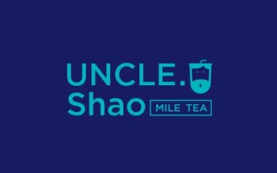 邵大叔奶茶   品牌标志