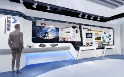 枭龙科技公司企业展厅设计