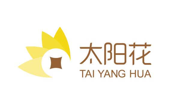 太阳花金融机构logo设计