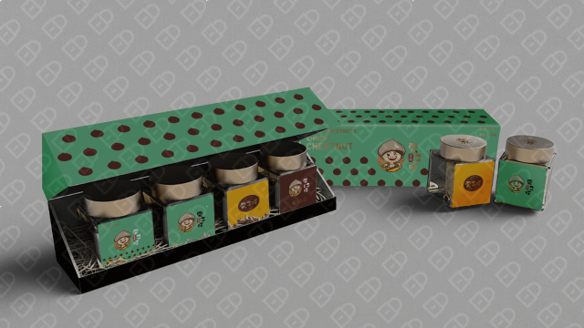栗子旺产品包装设计入围方案0