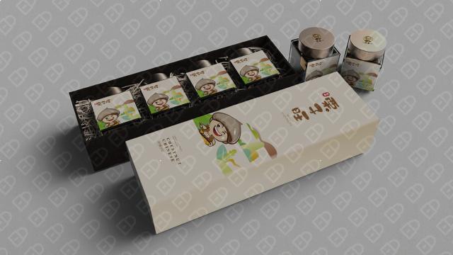 栗子旺产品包装设计入围方案2