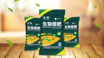 朱鹮生物菌肥包装设计