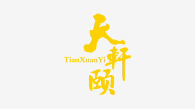 北京天轩颐文化传媒有限公司LOGO设计