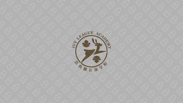 常青藤儿童学院LOGO万博手机官网入围方案1