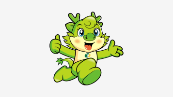 大慶金龍醫療品牌吉祥物設計