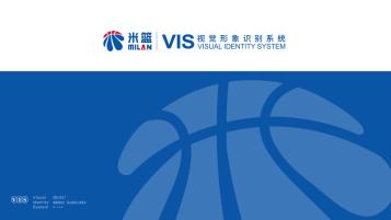 米蓝综合业务品牌VI设计