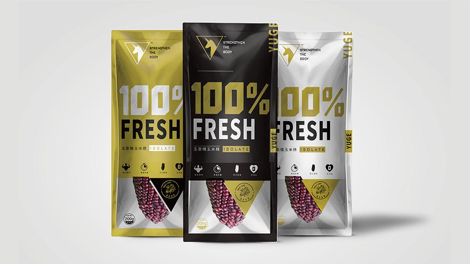 玉歌食品品牌包装设计