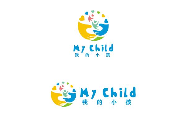 """""""我的小孩""""幼儿教育品牌 logo VI项目"""