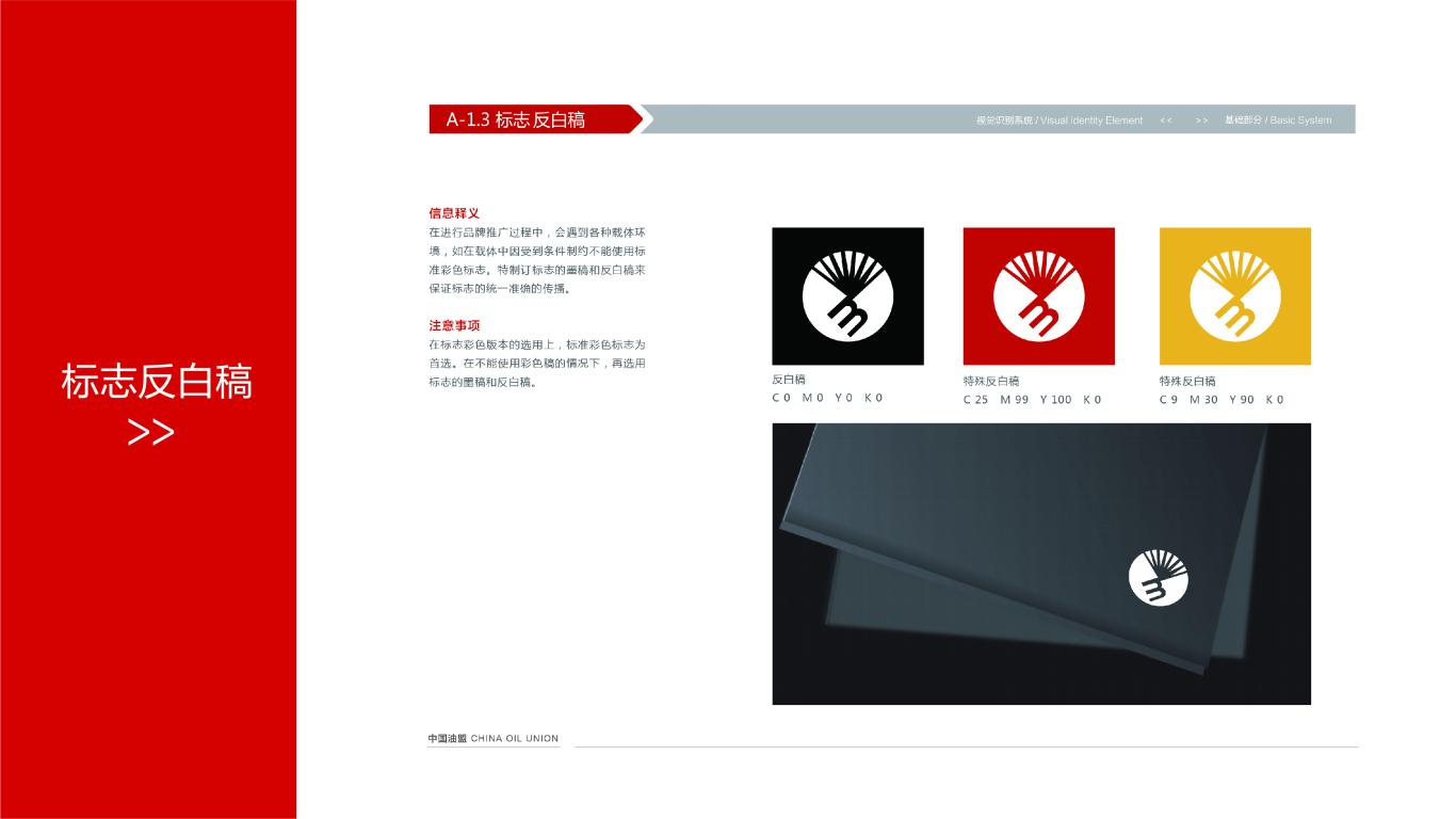 中国油盟VI设计中标图3