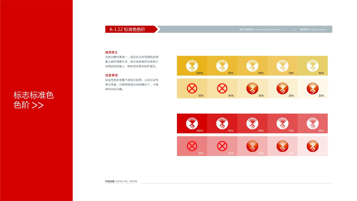 中国油盟VI设计中标图12