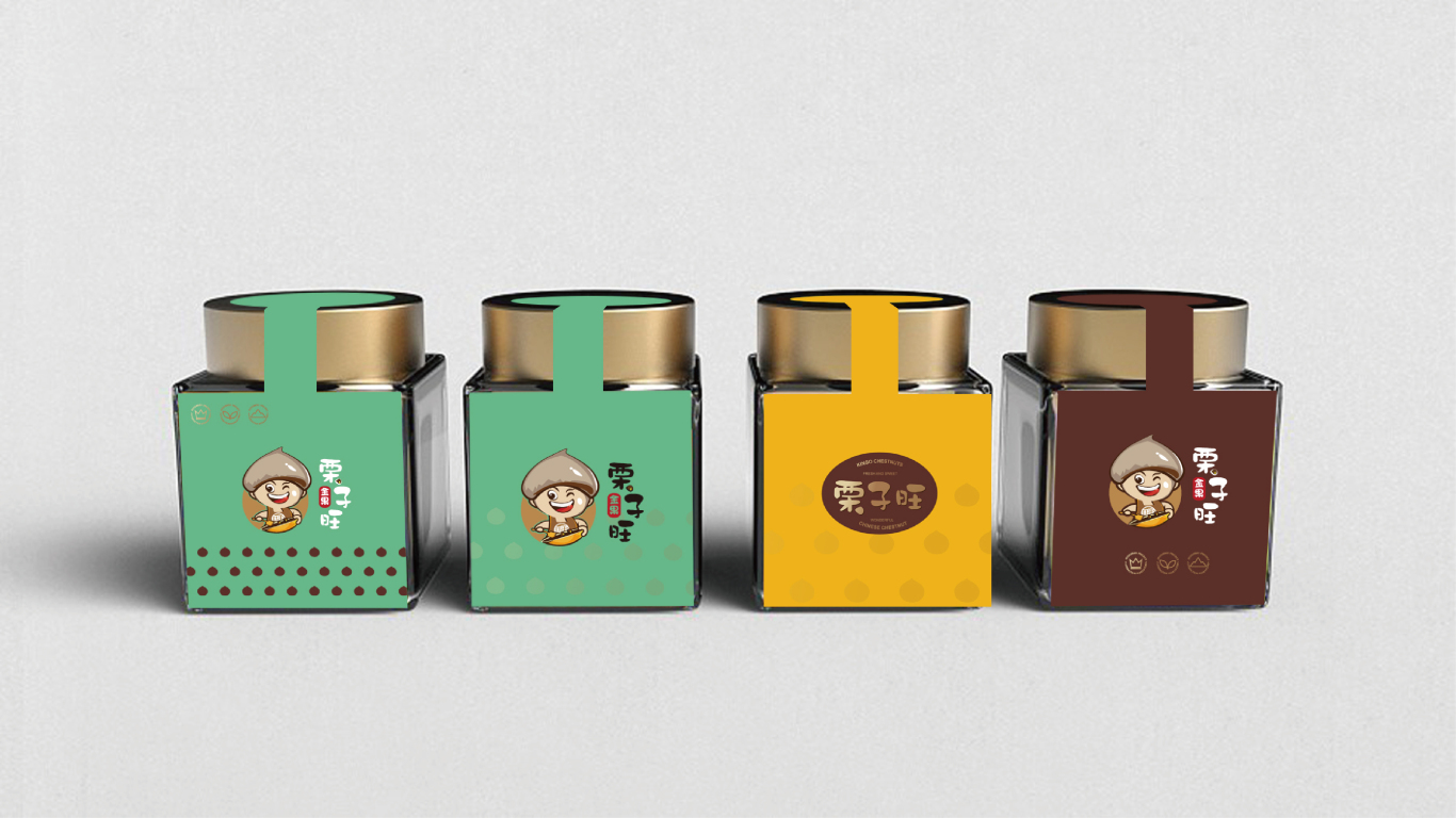 栗子旺产品包装设计中标图0