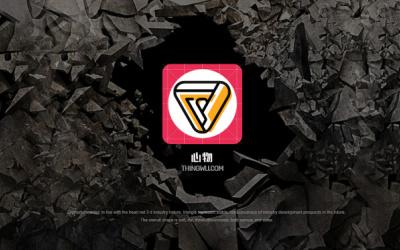 gui 3d app 启动图标...