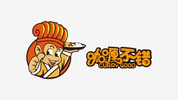 咖喱不错LOGO设计