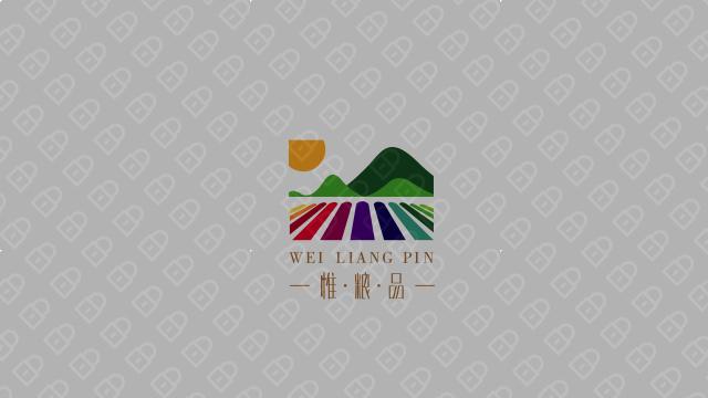 惟粮品农业品牌LOGO万博手机官网入围方案4