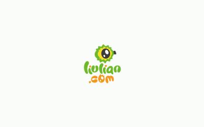 榴莲旅游 品牌形象 logo...