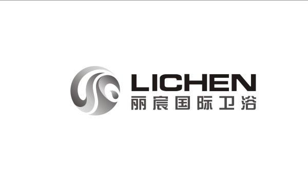 丽宸国际卫浴logo设计