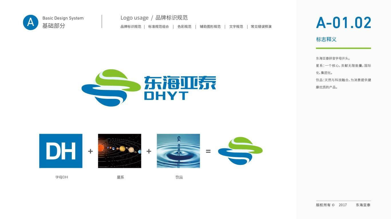 东海亚泰生物公司VI设计中标图3