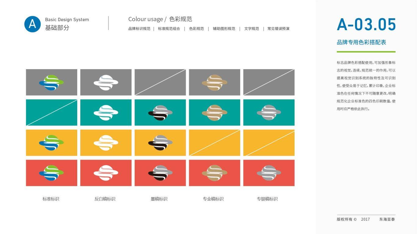 东海亚泰生物公司VI设计中标图24