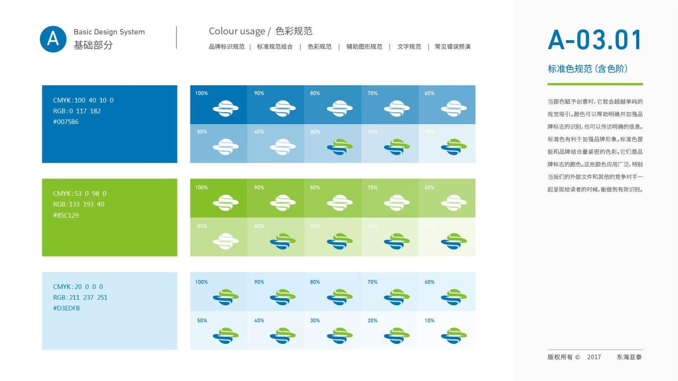 东海亚泰生物公司VI设计中标图19