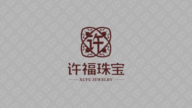 许福珠宝LOGO设计入围方案5