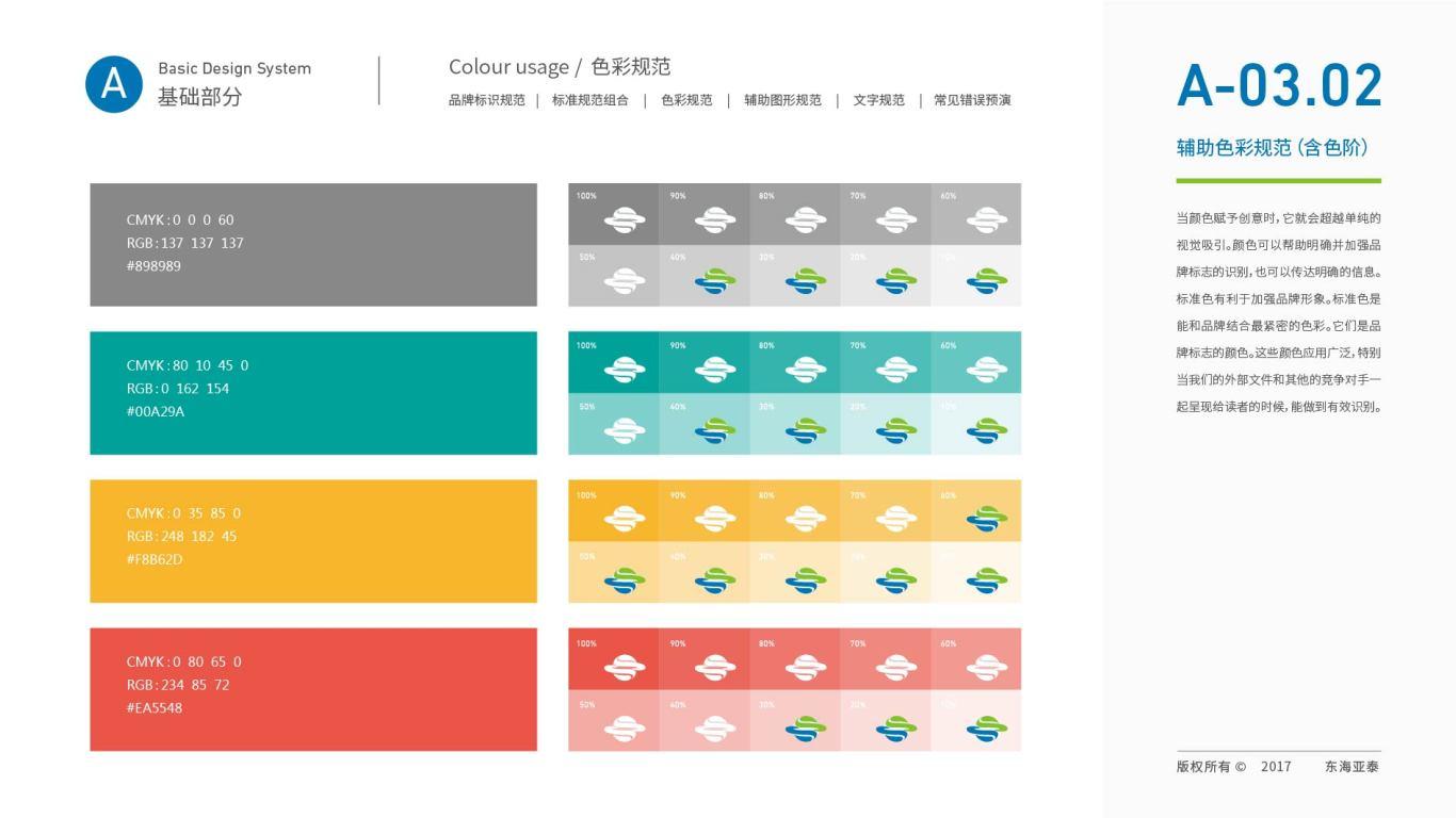 东海亚泰生物公司VI设计中标图20
