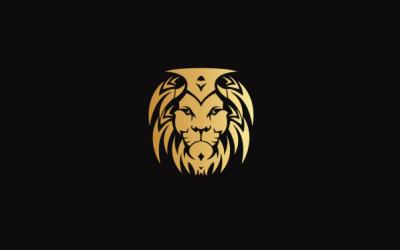 狮子主题创意logo设计