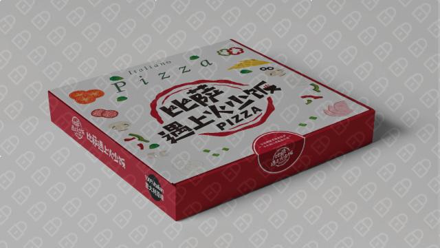 比萨遇上火少饭包装设计入围方案1