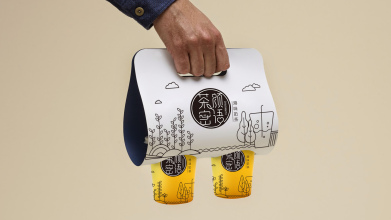 茶颜密语包装设计