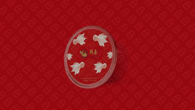 鲜喜纸皮馄饨包装设计入围方案1