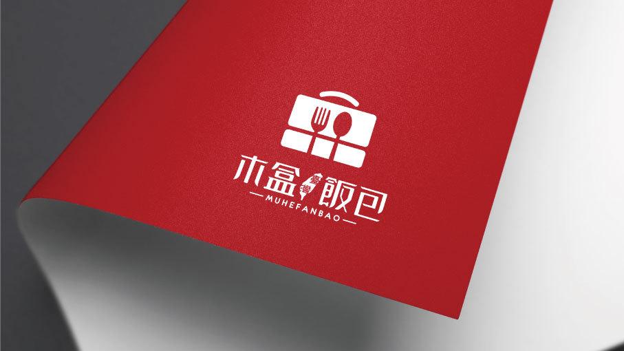 木盒饭包LOGO设计中标图3
