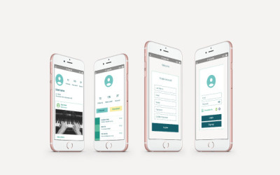 云说客app页面UI设计
