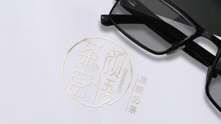 茶颜密语LOGO设计中标图3
