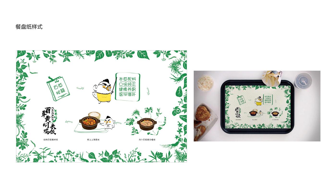 百草黄焖鸡包装设计中标图9
