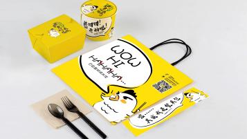 百草黄焖鸡包装设计