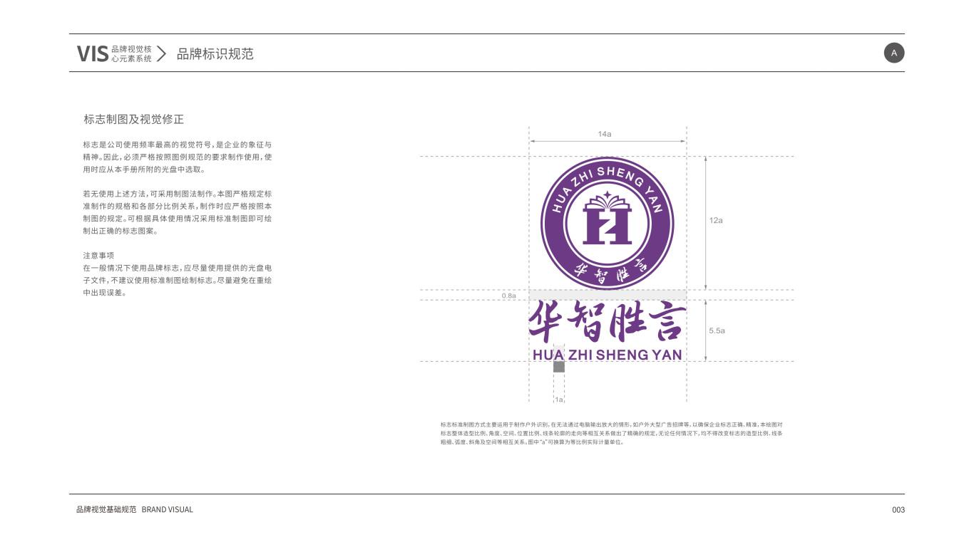 华智胜言VI设计中标图5