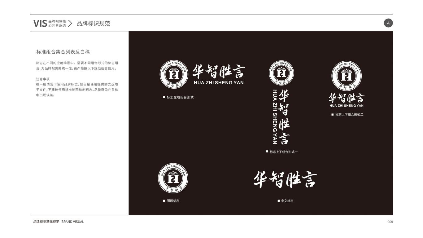 华智胜言VI设计中标图11