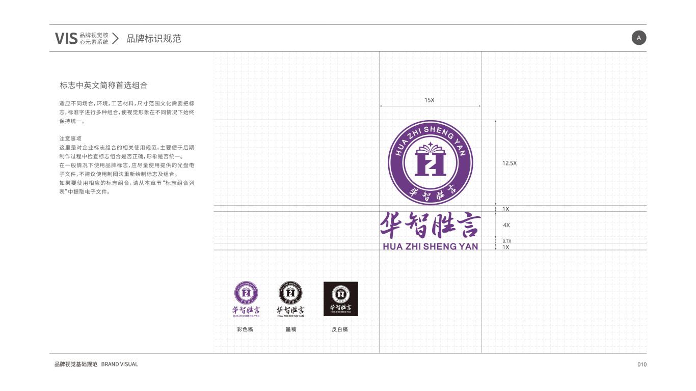 华智胜言VI设计中标图12