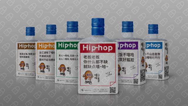 嘻哈王子包装设计入围方案4