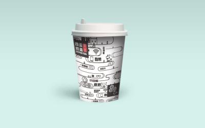 四方貢茶奶蓋 | 包裝設計